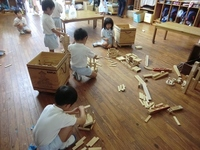 5歳児 「カプラ遊び」