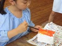 5歳 「紙粘土でなに作る?」