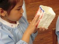 5歳児 「紙粘土でなに作る?」